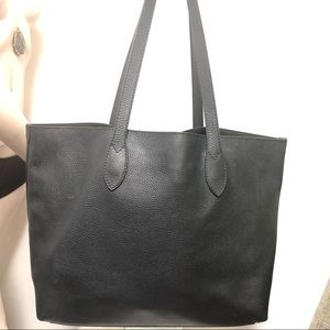 Burberry Bags - Burberry embossed leather tote .